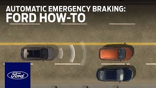 Download Pre-Collision Assist With Automatic Emergency Braking   Ford How-To   Ford Video