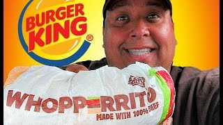 Download BURGER KING® ″WHOPPERRITO″™ Review! Video