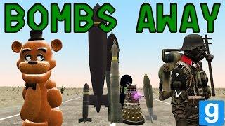 Download BOMBS AWAY 2 ~ Gmod Explosives Testing ~ BLAST RADIUS Video