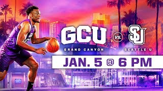 Download GCU Men's Basketball vs. Seattle U Jan 5, 2019 Video