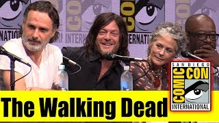 Download The WALKING DEAD | Comic Con 2017 Full Panel ( Andrew Lincoln, Norman Reedus, Jeffrey Dean Morgan) Video