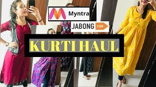 Download MYNTRA AFFORDABLE AND AMAZING KURTI HAUL Video