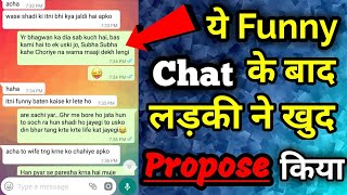 Download Chat - How To chat with a girl on whatsapp Video