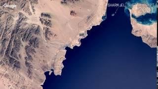 Download Google Timelapse: Sharm El Sheikh, Egypt Video