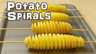 Download Spiral Potato - Chip on a Stick Life Hacks Video