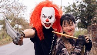Download Gugu Films Nerf War : Couple Dragon Nerf Guns Fight Criminal Groups XICMAN Mask Revenge Video