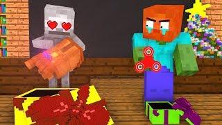 Download Monster School: Christmas Presents - Minecraft Animation Video
