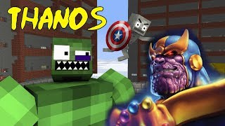 Download Monster School : AVENGERS VS THANOS CHALLENGE - Minecraft Animation Video