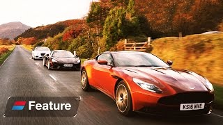 Download The Great British Grand Tour: Aston Martin DB11 vs Bentley Continental GT vs McLaren 570 GT Video