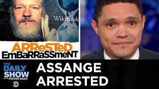 Download Assange Arrested and Charged with Conspiracy | The Daily Show Video