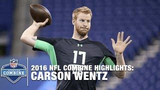 Download Carson Wentz (North Dakota St., QB)   2016 NFL Combine Highlights Video