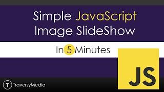 Download Simple JavaScript Slideshow In 5 Minutes Video