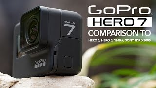 Download GoPro Hero 7 Black vs Hero 6, Hero 5, Sony FDR X3000 and YI 4K+ [4K] Video