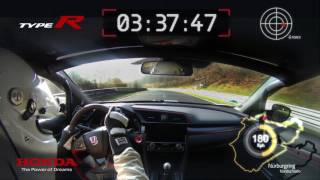 Download Honda 2017 Type R – VBox Nürburgring lap record footage Video