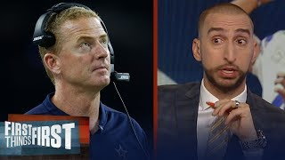 Download Should Jason Garrett be on the hot seat in Dallas? Nick and Cris discuss | NFL | FIRST THING FIRST Video