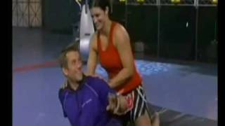 Download Gina Carano choking tv host ''dont be scared!!'' Video