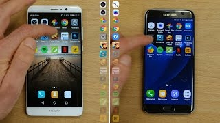 Download Speedtest : Huawei Mate 9 vs Galaxy S7 Edge Video
