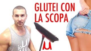 Download Glutei e Gambe sode con una Scopa! Programma 50 ripetizioni Video