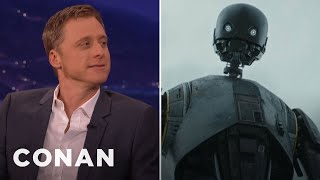 Download Alan Tudyk: K-2SO Almost Had A Cockney Accent - CONAN on TBS Video