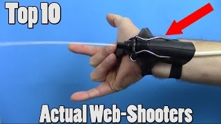 Download 10 Real Life Web-Shooters You Won't Believe Video