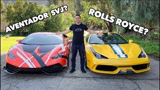 Download GARAGE UPDATE! WHERE IS MY AVENTADOR SVJ AND 600LT? Video