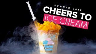 Download Thai Rolled Ice Cream & Nitrogen Ice Cream at Snow Factory | Cheers to Ice Cream Video