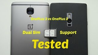 Download OnePlus 3 & OnePlus 2 - Dual Sim Support Tested!! Video