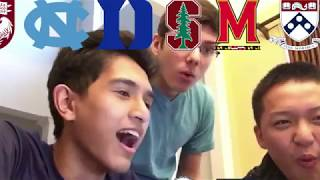 Download 14 COLLEGE DECISION REACTIONS!!! (ALL IVIES+STANFORD+MIT+UCHICAGO+DUKE+MORE) Video