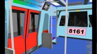 Download [OpenBVE][AJRT][Multiple Train Rides] C765L + C375A on North West Line (Generation 4) Video