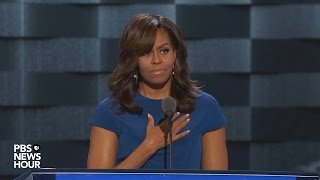 Download Watch first lady Michelle Obama's full speech at the 2016 Democratic National Convention Video