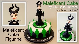 Download Halloween Maleficent Cake How to by Pink Cake Princess Video