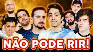 Download NÃO PODE RIR! com Lucas Inutilismo, Cellbit, Zelune e Matheus Canella Video