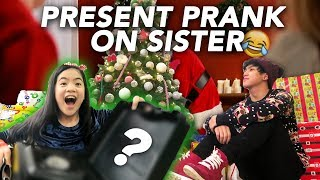 Download CHRISTMAS PRESENT PRANK ON SISTER | Ranz and Niana Video