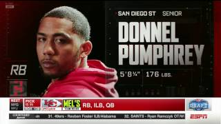 Download SDSU FOOTBALL: NFL DRAFT - DONNEL PUMPHREY SELECTED BY EAGLES IN 4th ROUND - 4/29/17 Video