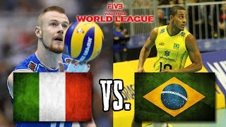 Download Italy vs Brazil FIVB World League Finals Group 1 FULL MATCH BREAKS REMOVED Video