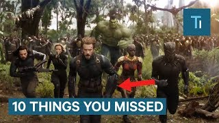 Download 'Avengers: Infinity War' Trailer: 10 Things You Missed Video