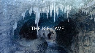 Download The Ice Cave - Drone video from an Icelandic Ice Cave Video