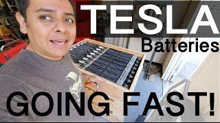 Download TESLA CAR Battery modules SELLING fast - Vlog #208 Video