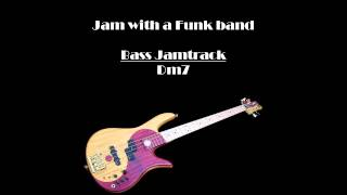 Download JamTrack-BASS-Funk in D Video