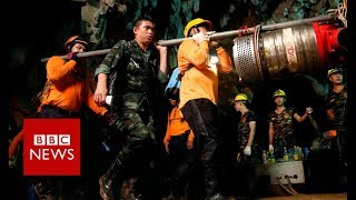 Download Thailand Cave: How the Thai cave boys were rescued - BBC News Video