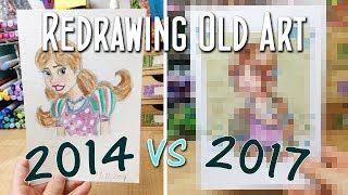 Download Draw This Again! Redrawing My First Original Character: The Redraw Challenge Video