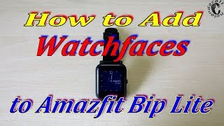 How to Install Amazfit Bip Custom Watch Face Using Mi Fit App Free