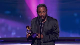 Download Kendrick Lamar Wins Best Rap Album | Acceptance Speech | 60th GRAMMYs Video