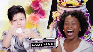 Download We Competed to Make Wedding Cakes • Ladylike Video
