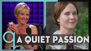 Download Cynthia Nixon on portraying Emily Dickinson Video