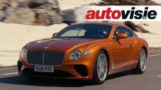 Download Bentley Continental GT (2018) - Test - Autovisie TV Video
