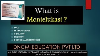 Download MONTELUKAST (COMPLETE EDUCATION) Video