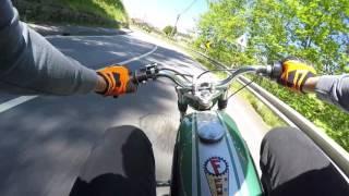 Download Famel Zündapp XF-17 #GreenZefa Top Speed 50cc   Rossi da Zundapp Onboard Video