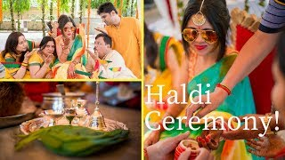 Download My Haldi Ceremony! Outfit Plus All The Baniya Rituals! POOJA GUPTA Video