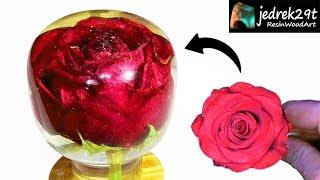 Download Rose in RESIN / ART RESIN Video